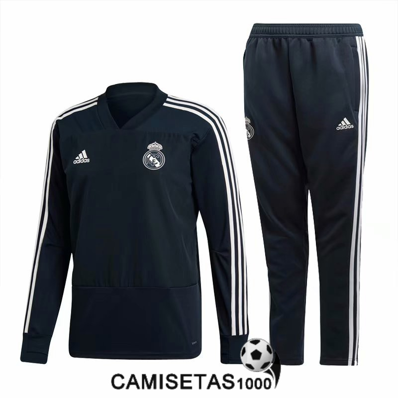 chandal real madrid 2018 2019 cremallera nergo [camiseta2018-09-07-11]