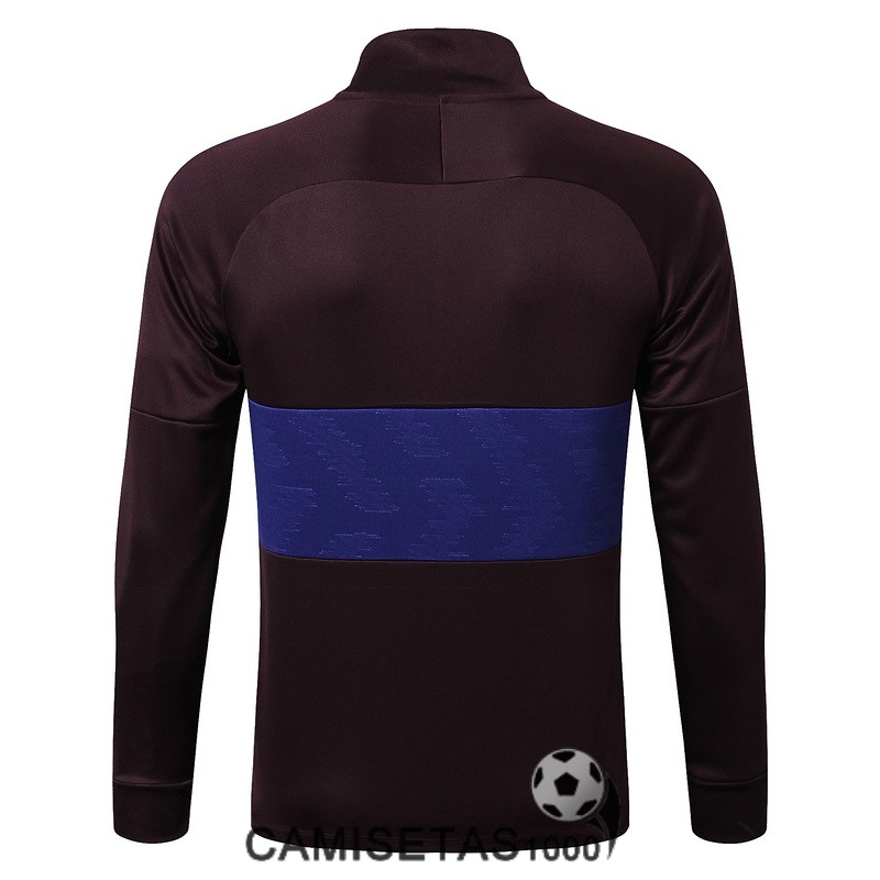 chaqueta barcelona 2019-2020 marron purpura
