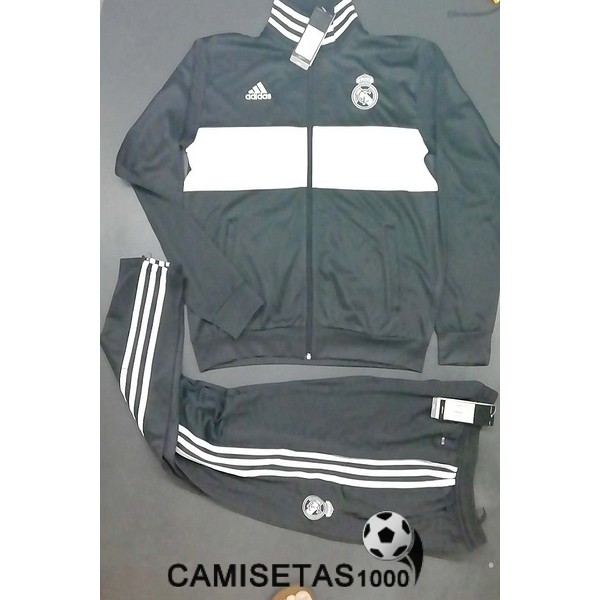 chaqueta real madrid 2018 2019 negro