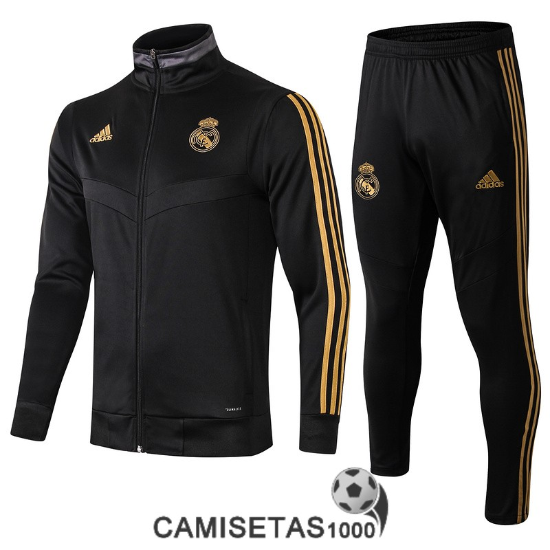 chaqueta real madrid 2019-2020 negro