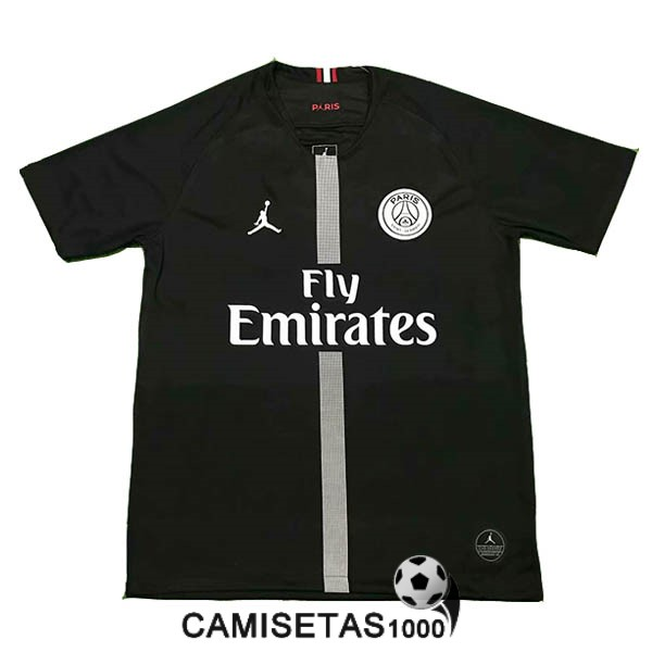 negro camiseta psg 2018 2019 champions league
