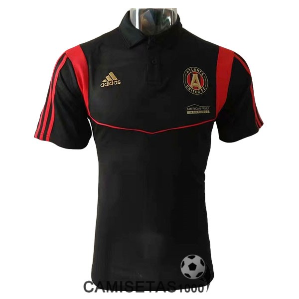 polo atlanta united negro rojo 2019-2020
