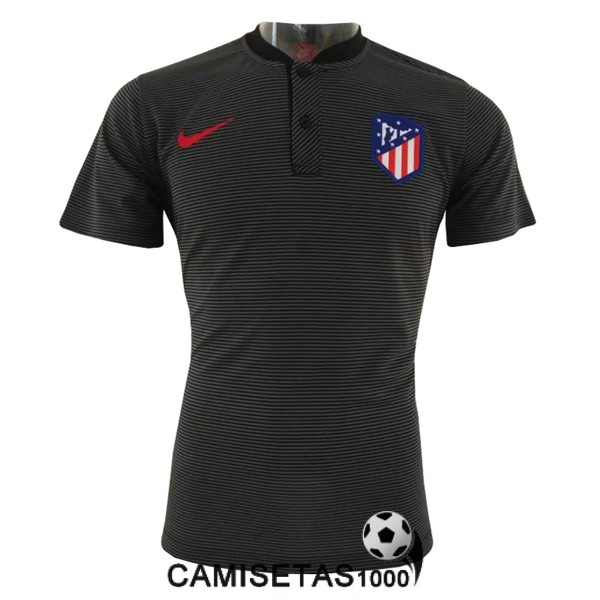polo atletico de madrid negro 2018 2019