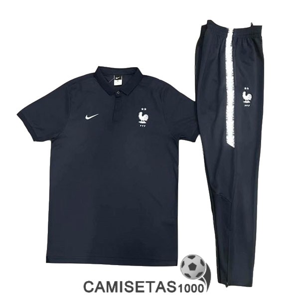 polo francia azul 2019-2020 kit
