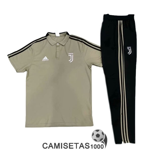 polo juventus marron 2019-2020 kit