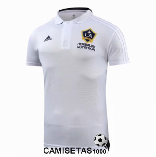 polo la galaxy blanco 2018 2019
