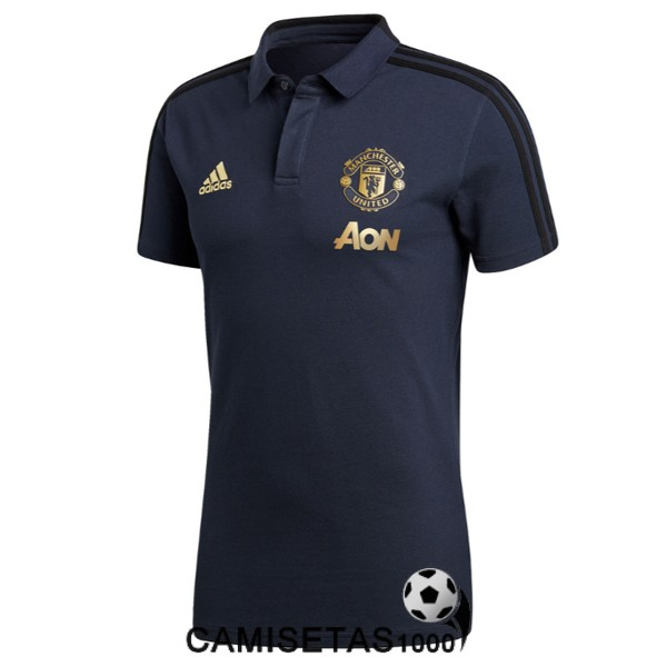 polo manchester united azul 2018 2019