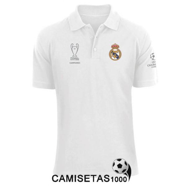 de594a69387e7 polo real madrid champions league blanco 2018 2019 barata   replica ...