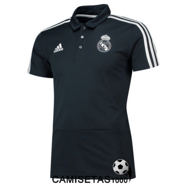 polo real madrid negro 2018 2019