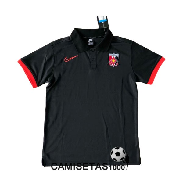 polo urawa red diamonds negro 2020-2021