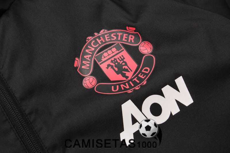 rompevientos manchester united 2018 2019 negro