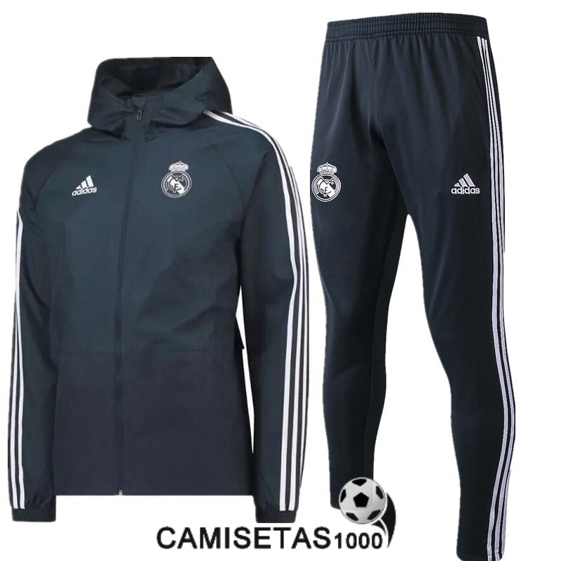 rompevientos real madrid 2018 2019 gris